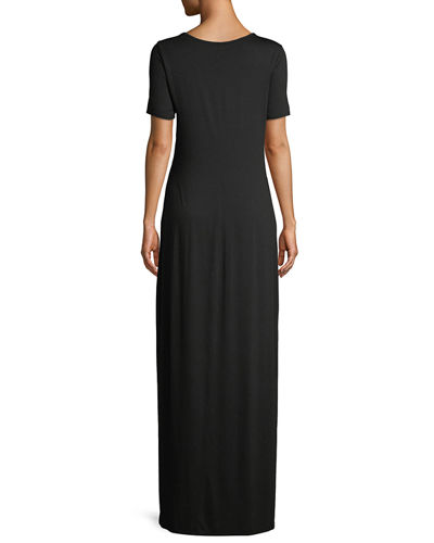 Maxi Jersy T-Shirt Dress