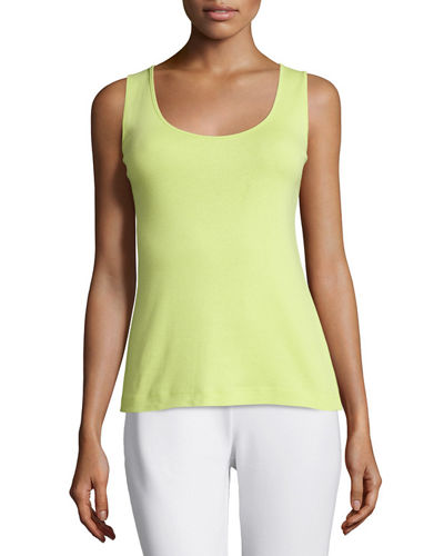 Cotton Ribbed Tank Top