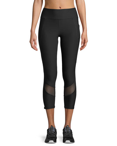 Curved Capri Leggings