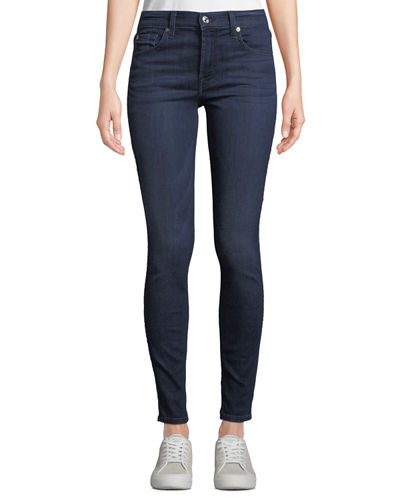 Gwenevere Medium-Wash Ankle Jeans