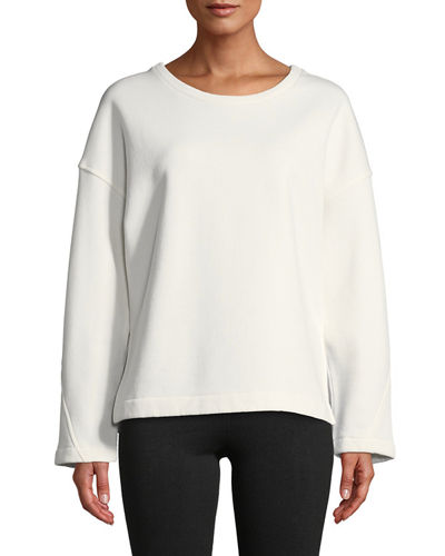 For Nice Discount Brand New Unisex Crewneck Vented Pullover Sweatshirt Vince Buy Cheap Cheapest Price Cheap Sale Visit JIsG4k4y