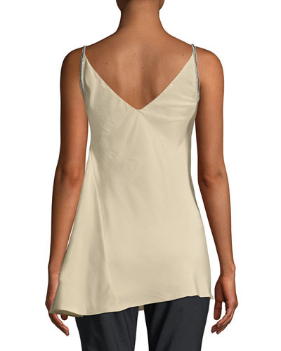 Monilli-Strapped V-Back Tank