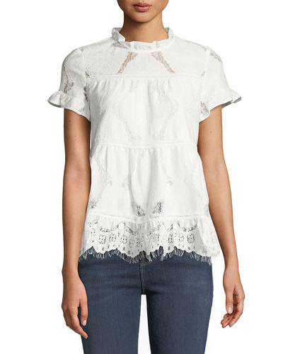 Theodora Lace Blouse