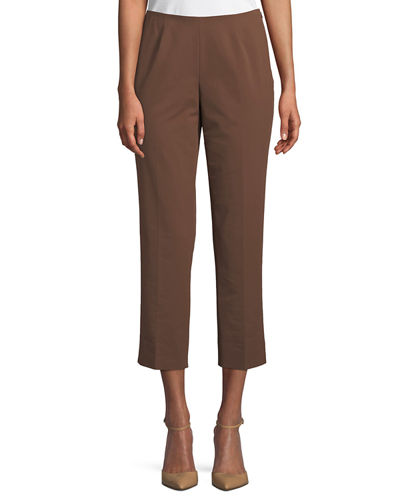 Bleecker Cropped Fundamental Bi-Stretch Pants