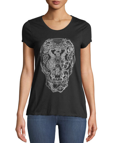 Titan Skull Cotton Tee