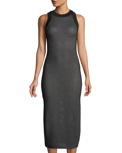 Basketball Mesh Midi Dress