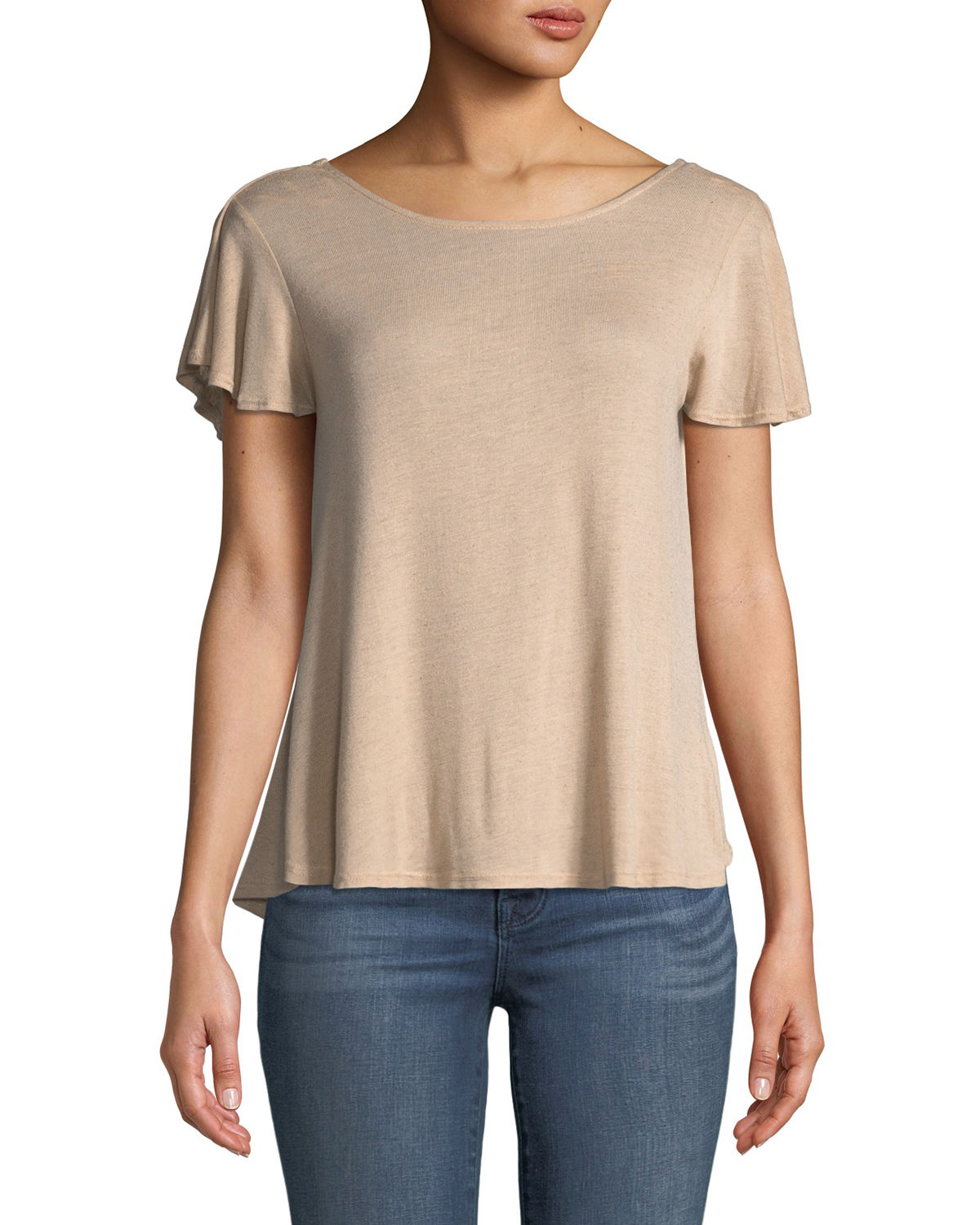 Cape-Back Jersey Tee