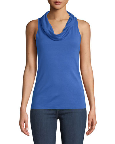 Cowl-Neck Jersey Tank Three Dots Buy Cheap Low Cost Buy Cheap Discount Discount Best Seller Good Service WWt5X3