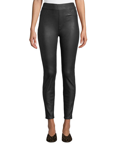 Napa Leather-Like Ponte Comfort Skinny Jeans