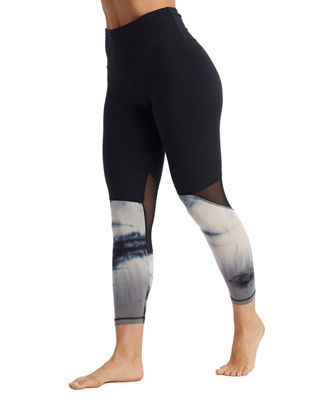 THE BALANCE COLLECTION Zuri Mid-Calf Activewear Leggings in Black
