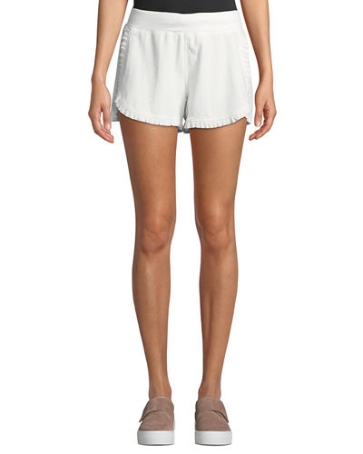 Brook Frill-Trimmed Jog Shorts