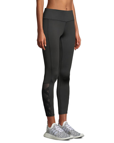 Billy Lace-Up Performance Leggings