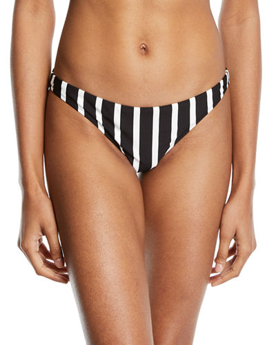St. Lucia Striped Swim Bikini Bottom