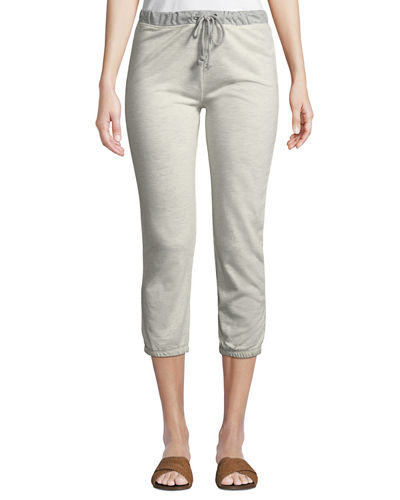 French Terry Cropped Sweatpants