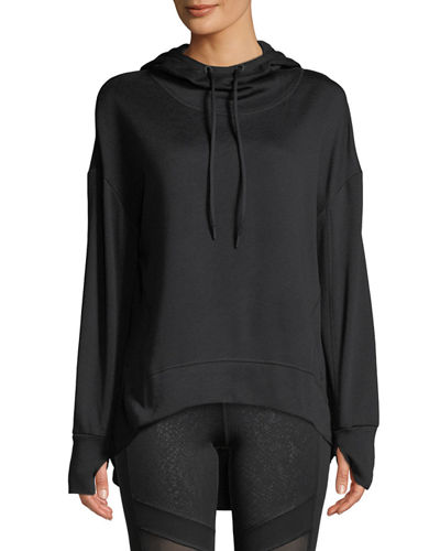 Marc NY Performance Fabulous Fleece Hoodie High-Low Tunic