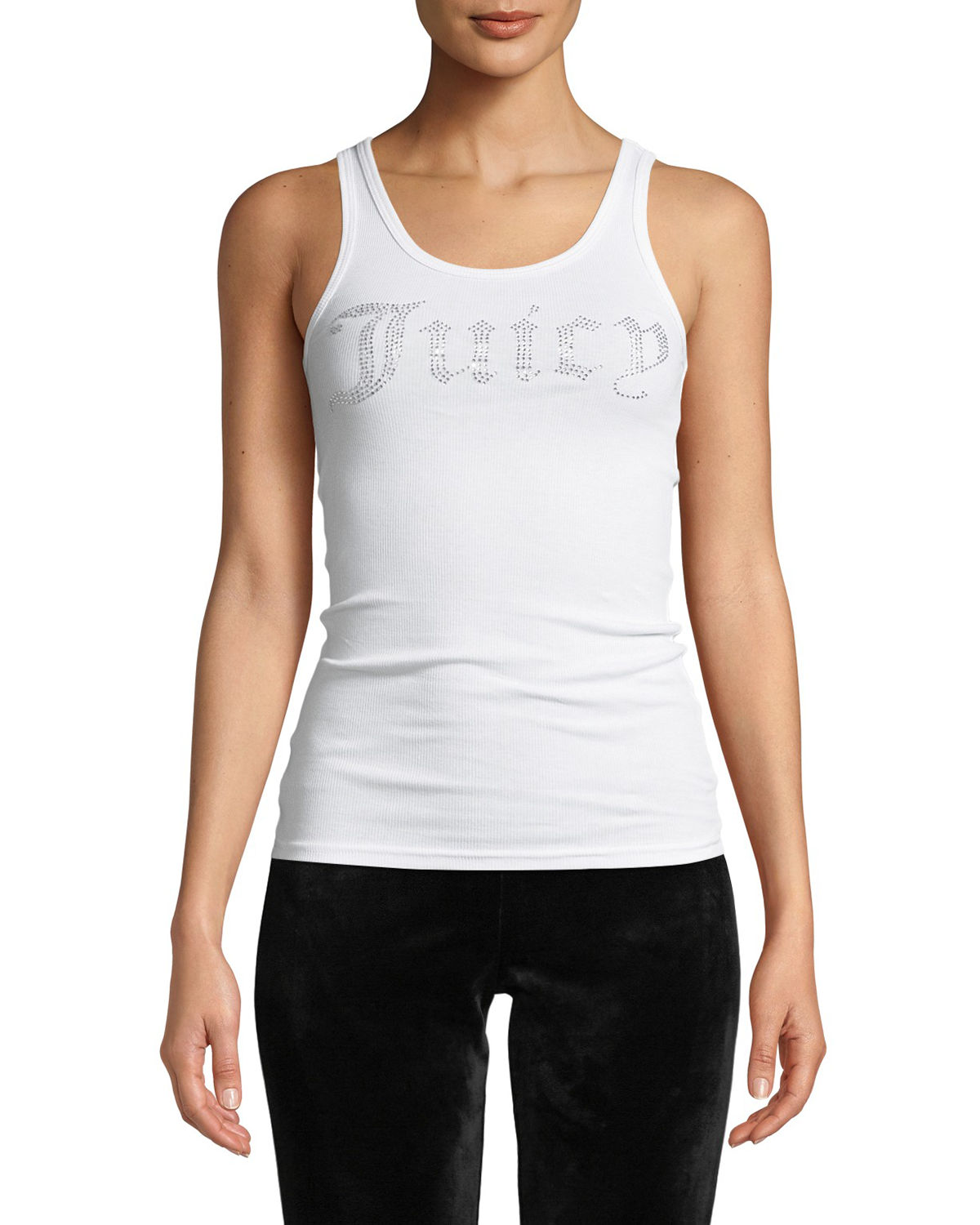 Juicy Couture GOTHIC CRYSTAL LOGO TANK