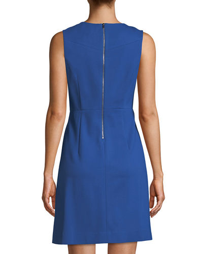 Carrie Crewneck Sheath Dress