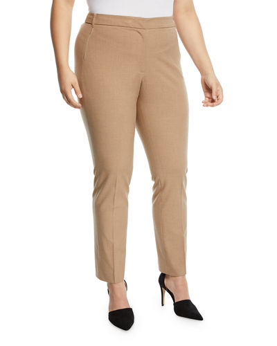 Sawyer Mid-Rise Slim Leg Pants  Plus Size