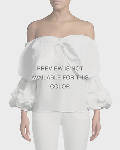 387054282f92 Off the Shoulders Tops at Neiman Marcus Last Call