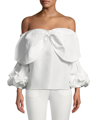 7bda6f2438786 Off the Shoulders Tops at Neiman Marcus Last Call