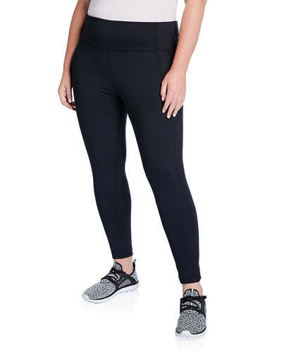 Plus Size High-Rise Tummy Control Leggings