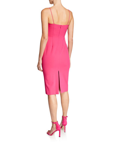 Sweetheart Sleeveless Body-Con Dress