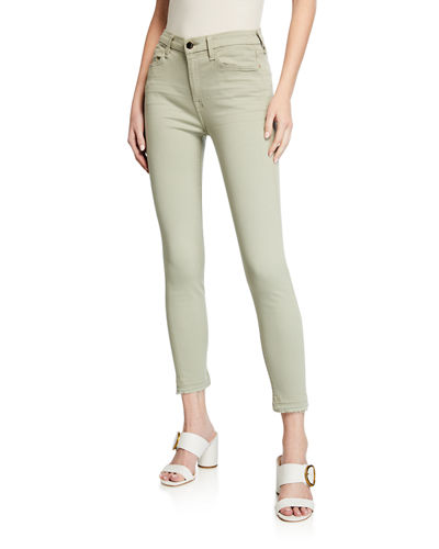 Ankle Skinny Modal/Cotton Jeans