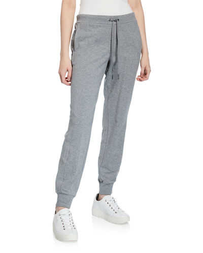 French Terry Mid-Rise Jogger Pants