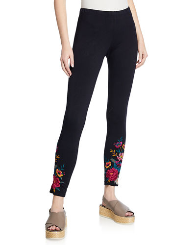 Katrina Embroidered Leggings