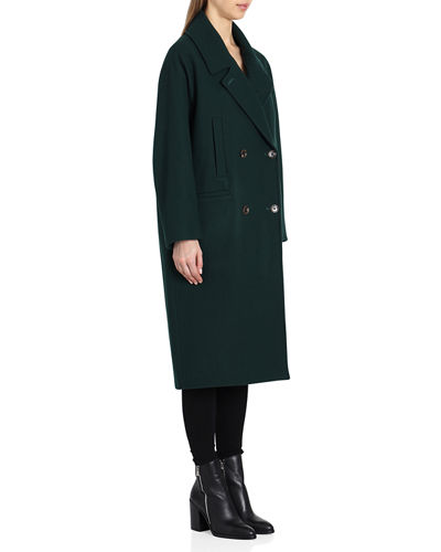Cameron  Double-Breasted Wool Coat