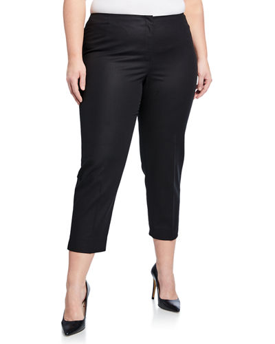 Lexington Straight-Leg Cropped Pants  Plus Size