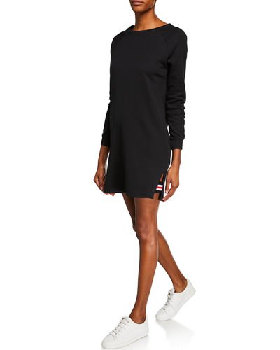 Dee Raglan-Sleeve Sweater Dress