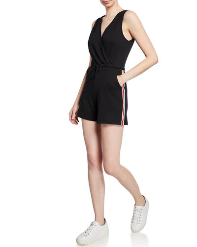 Jada Side Striped Romper