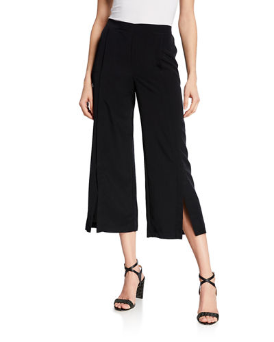 Pull-On Solid Elastic Pants