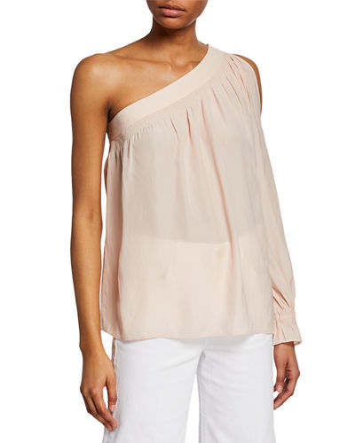 Kelsie One-Shoulder Blouse