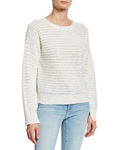Jayn Casual Crochet Sweater