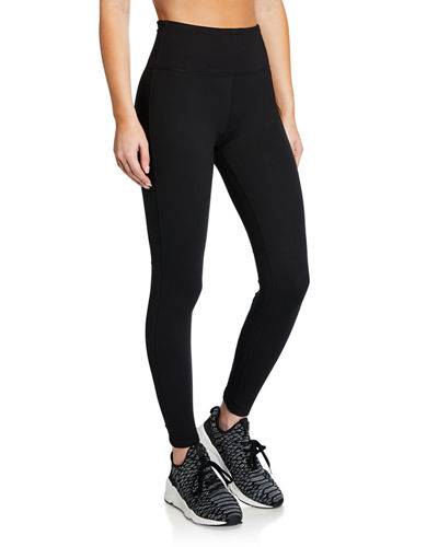 Crisscross Cutout High-Waist Leggings