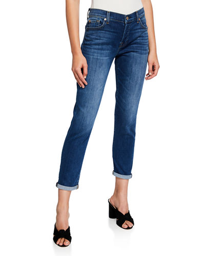 Josefina Distressed Boyfriend Jeans