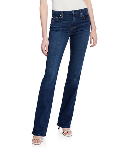 Kimmie Boot-Cut Squiggle Jeans