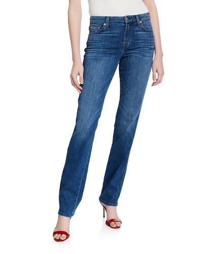 Kimmie Straight-Leg Squiggle Jeans