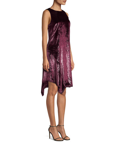 Serenity Metallic Sleeveless Dress
