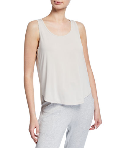 Loop Strap Scoop-Neck Tank