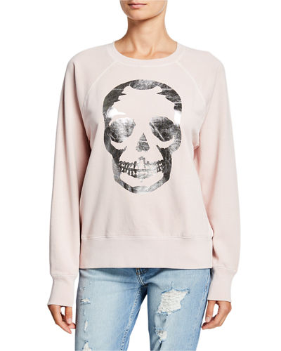 Upper Skull Graphic Sweatshirt