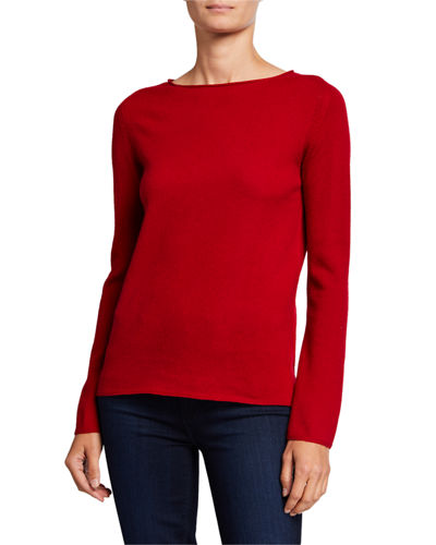 Basic Crewneck Cashmere Sweater