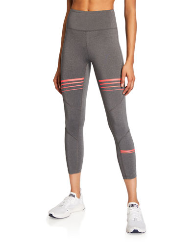 Prescott Striped Capri Leggings