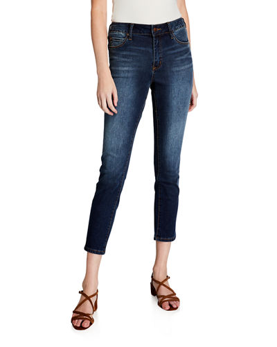 Slim Cropped Denim Jeans
