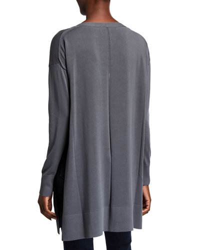 Open Sided Long-SleeveTunic