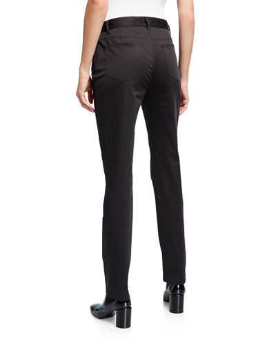 Curvy Slim-Leg Pants