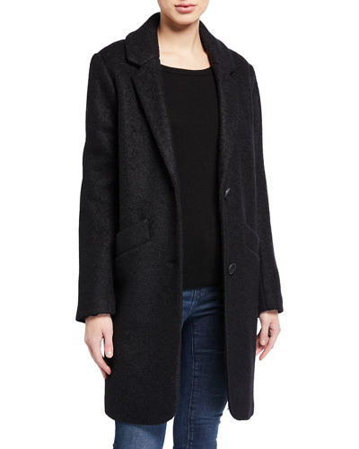 Best Seller Pressed Boucle Coat