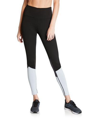 Colorblock High Waist Leggings